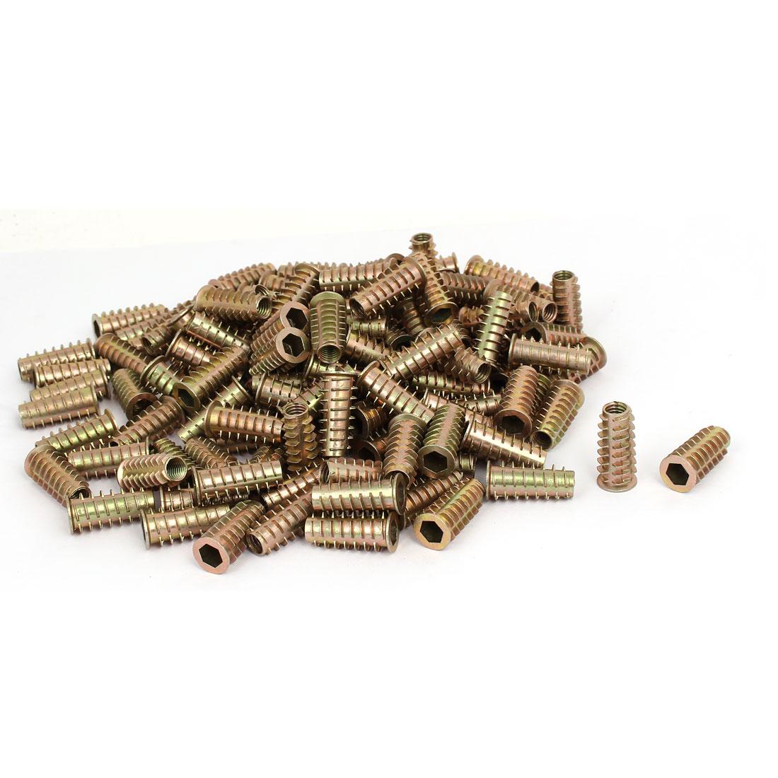 M8 x 30mm Hex Socket Head Insert Screws E-Nuts Furniture Fittings 200pcs
