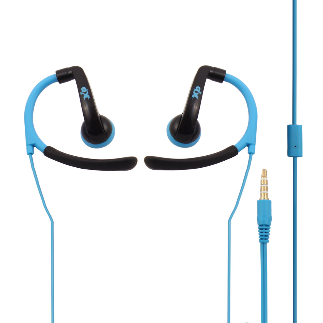 Laptop Over-the-ear Style Build-In Microphone In-ear Headset Earphone Blue