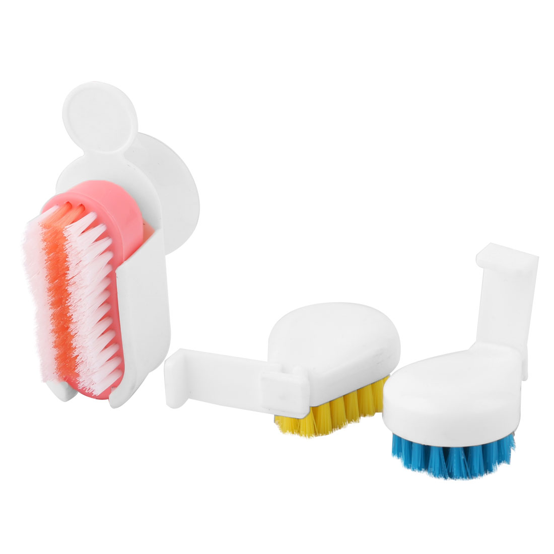 Bathroom Washroom Washbasin Washstand Cleaning Tool Scrubbing Brush 2 Sets