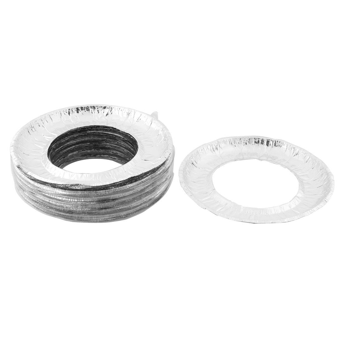 Kitchenware Aluminum Foil Round Shaped Stove Burner Bib Liners Covers 60 PCS