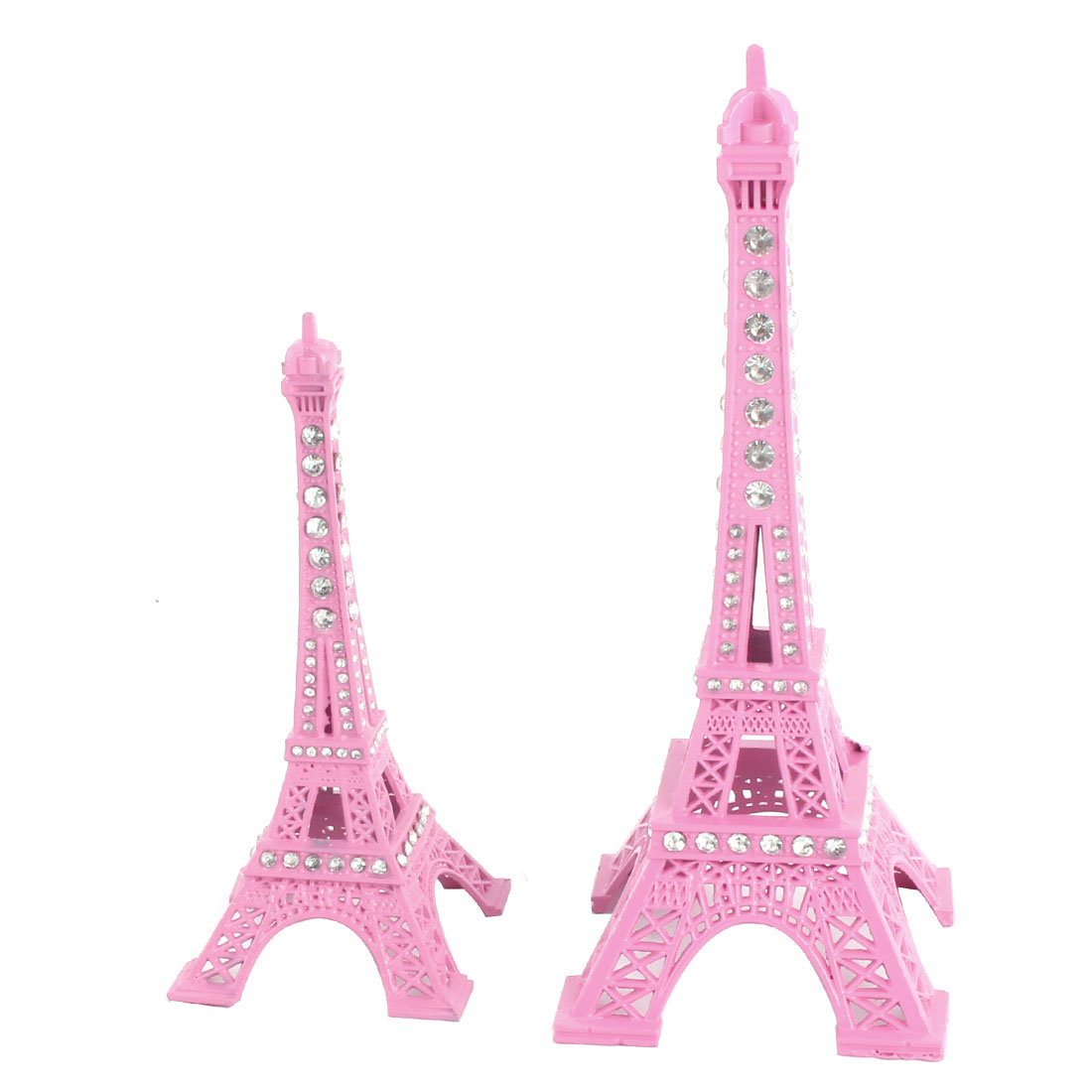 Office Desk Metal Miniature Statue Eiffel Tower Model Souvenir Ornament 2 in 1
