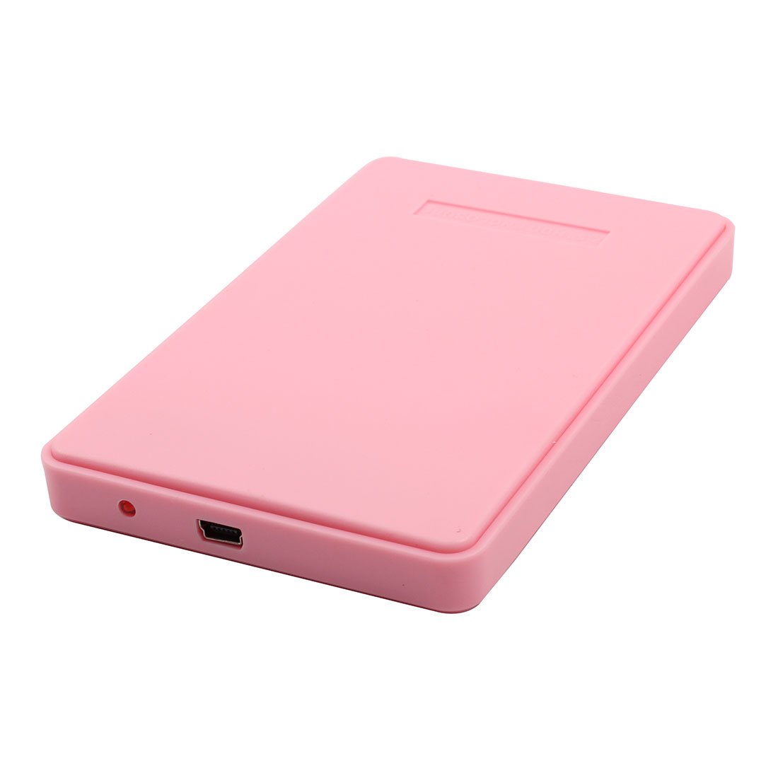 Laptop USB 2.0 Hard Drive Disk Plastic Enclosure External 2.5 Inch Sata HDD Case Pink