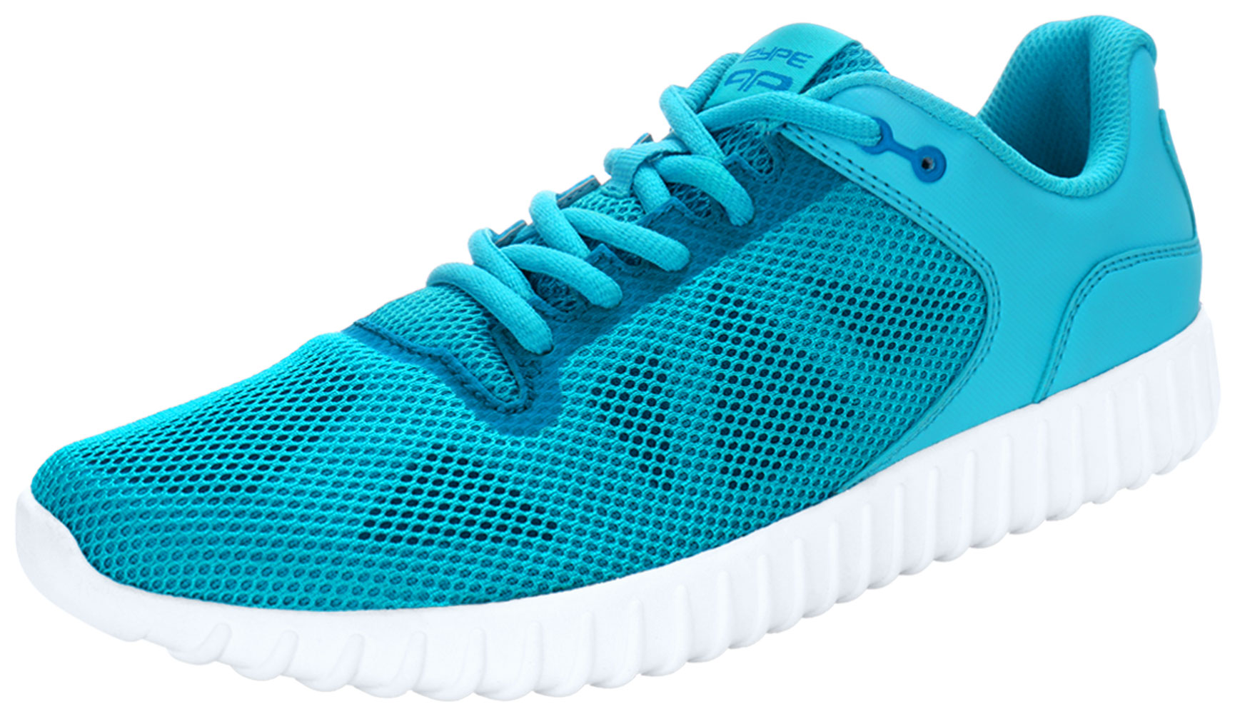 PYPE Women Geometric Prints Lace Up Mesh Training Shoes Blue US 9