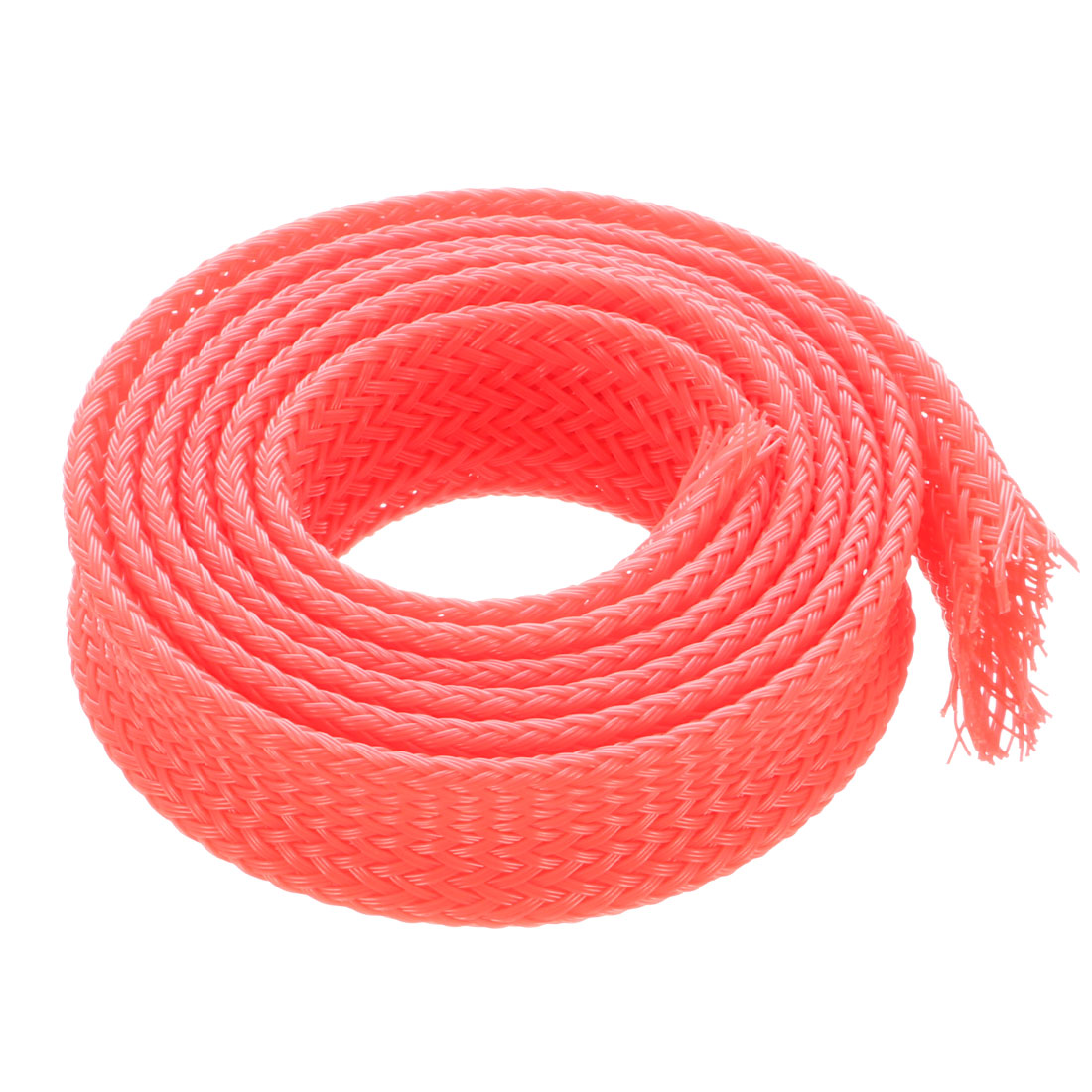 10mm Dia PET Expandable Wire Tight Braided Cables Sleeving Wrap Harness 50CM