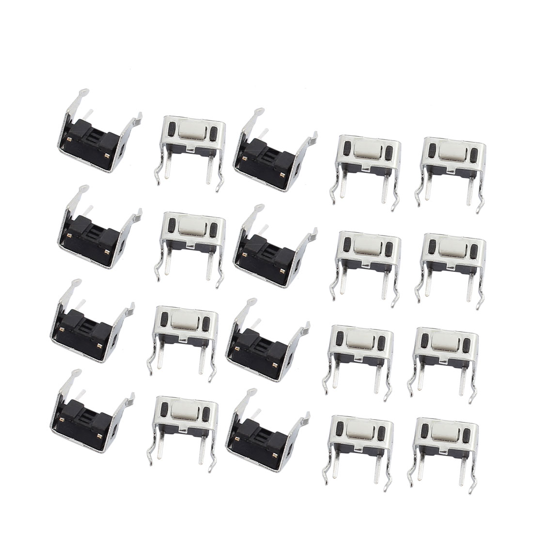 20Pcs 3mmx6mmx5mm Panel PCB Momentary Tactile Tact Push Button Switch 4Terminals