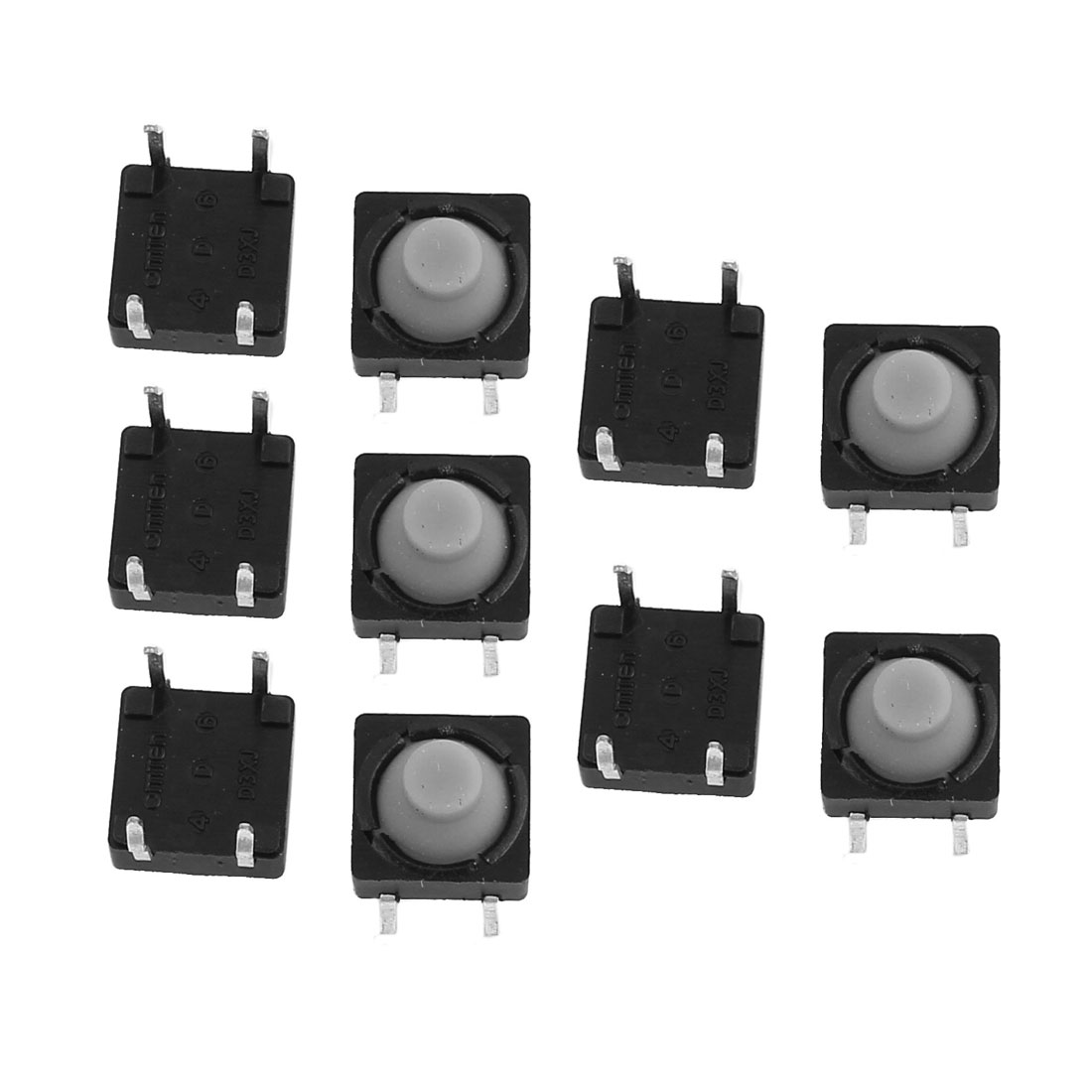 10Pcs 8mmx8mm Panel PCB Momentary Tactile Tact Push Button Switch