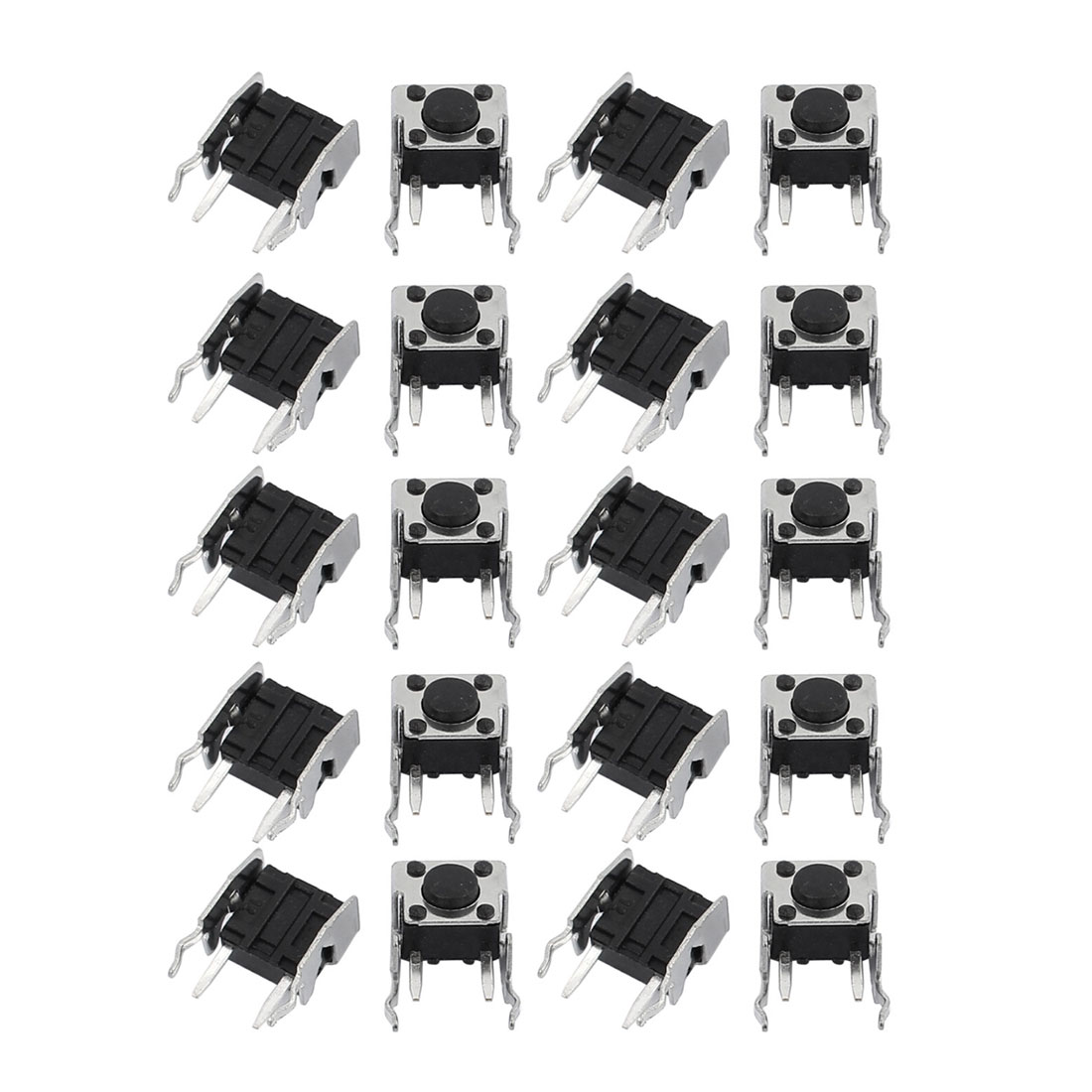 20Pcs 6mmx6mmx4.5mm Panel PCB Momentary Tactile Tact Push Button Switch