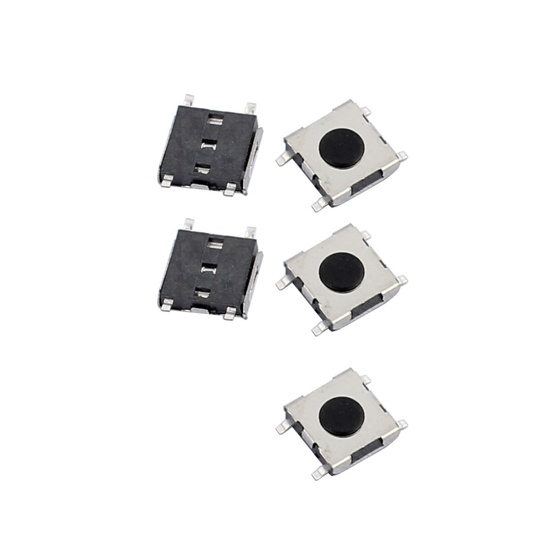 5Pcs 4.5mmx4.5mmx1.5mm Panel PCB Momentary Tactile Tact Push Button Switch