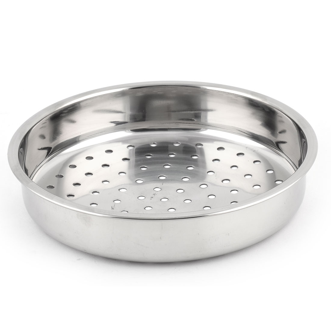 Stainless Steel Round Shaped Hole Cookware Food Cooking Steamer Rack 21cm Dia