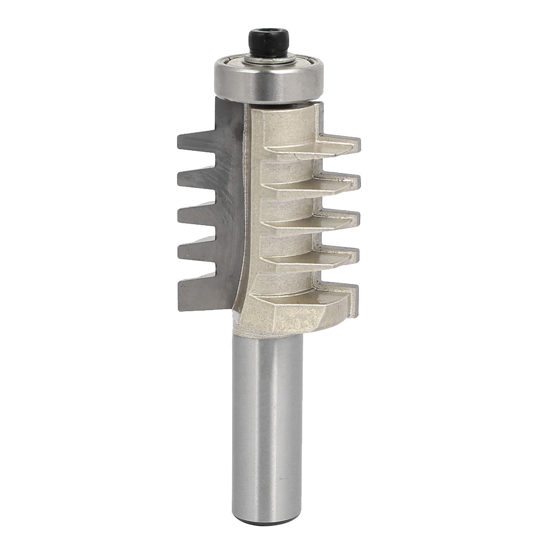 1/2-inch Shank 1-1/4-inch Cutting Dia Reversible Finger Joint Glue Router Bit