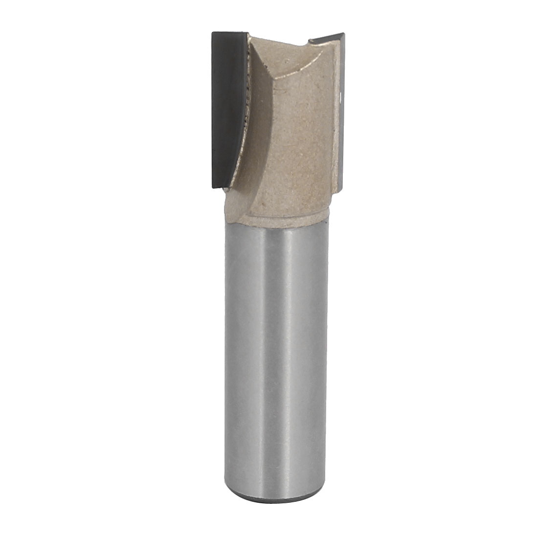 "5/8"" Dia by 20mm Depth Double Flute Carbide Tip Straight Router Bit, 1/2"" Shank"