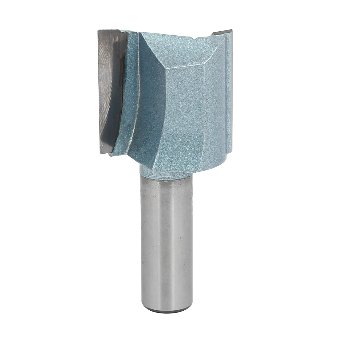"""1-3/8"""" Dia by 30mm Depth Double Flute Straight Router Bit CNC Cutter, 1/2"""" Shank"""