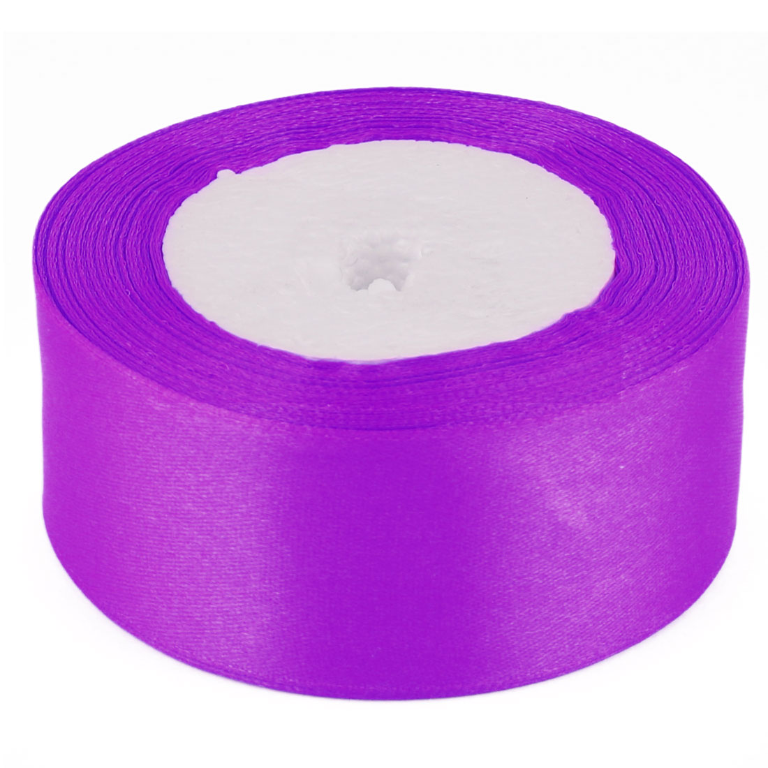 Wedding Party Festival Christmas Decoration Ribbon Purple 25.2 Yards 4cm Width
