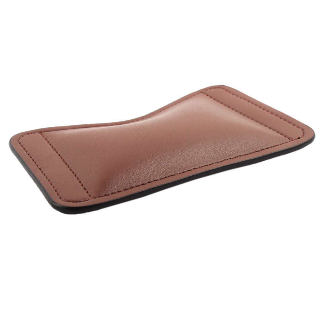 Computer PU Leather Mice Pad Hand Support Cushion Mouse Wrist Rest Brown