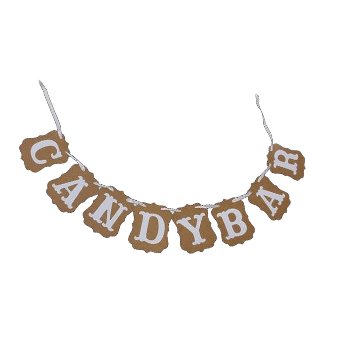CANDY BAR Letter Birthday Party Ornament Photo Prop Banner Set 8 in 1