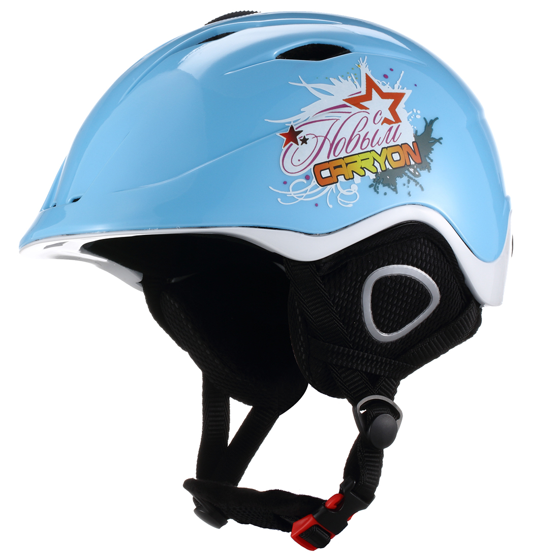Carryon Authorized Adult Snowboard Ski Helmet Winter Sports Head Protect Blue M
