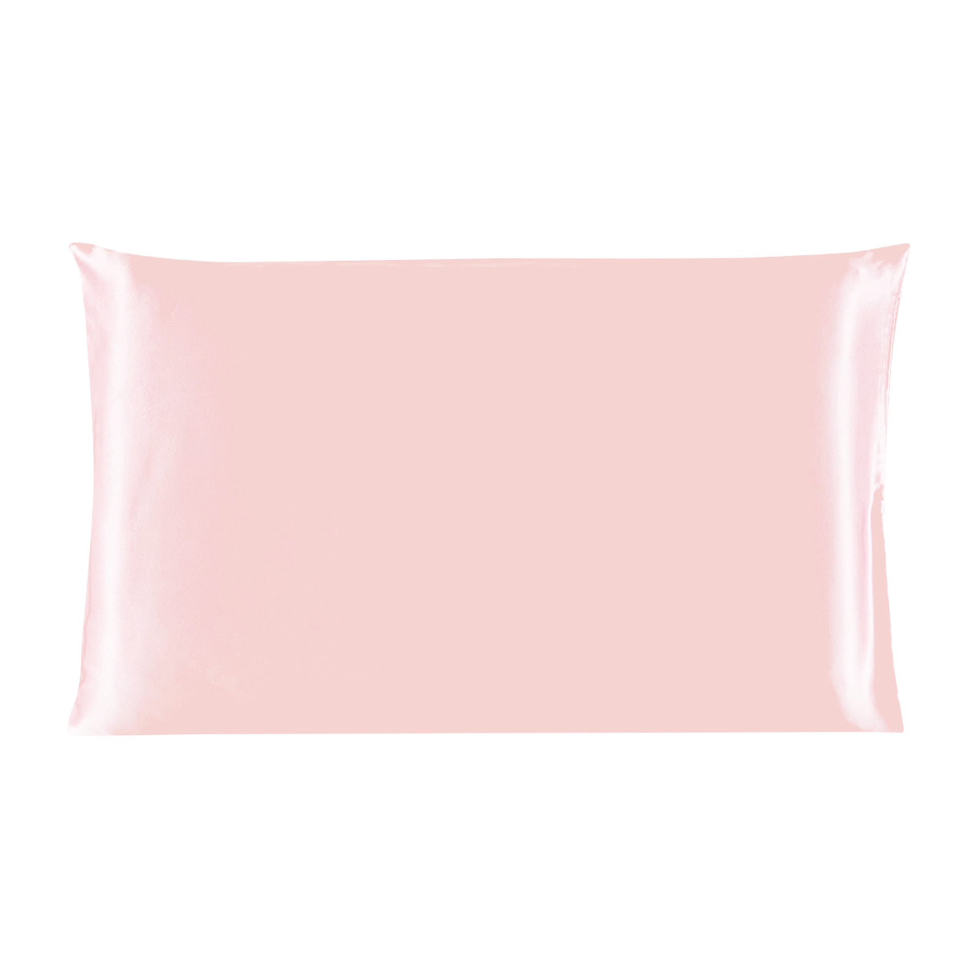 Piccocasa 100% Mulberry Silk Pillow Case Cover Pillowcase Pink Queen Size