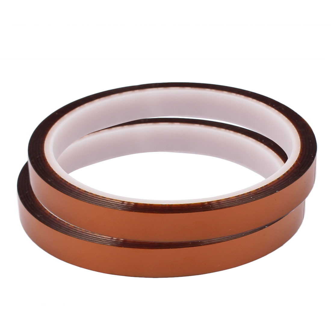 2pcs 10mm Width 33M Length High Temperature Heat Resistant Polyimide Tape