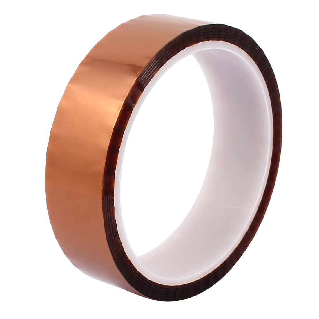 25mm Width 33M Length High Temperature Heat Resistant Polyimide Tape