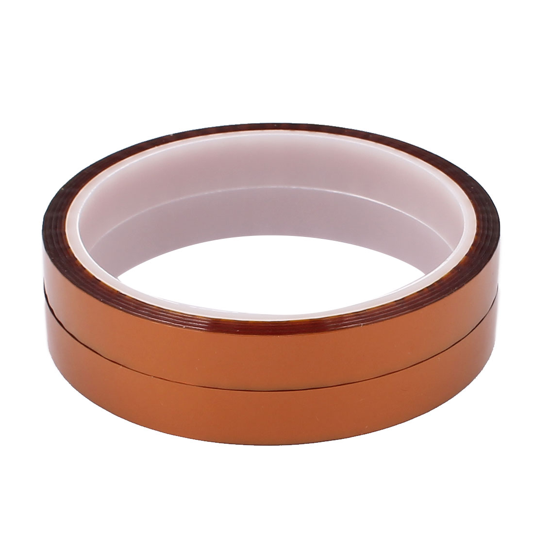2pcs 12mm Width 30M Length High Temperature Heat Resistant Polyimide Tape
