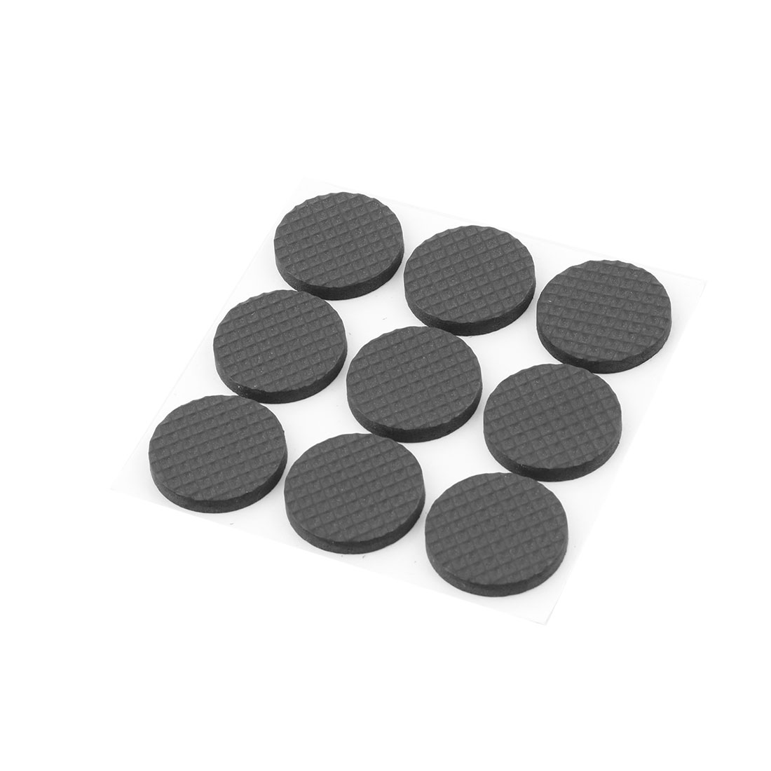 Furniture Table Foot Leg Rubber Anti Scratch Slip Protectors Covers Pads Mats Black 9pcs