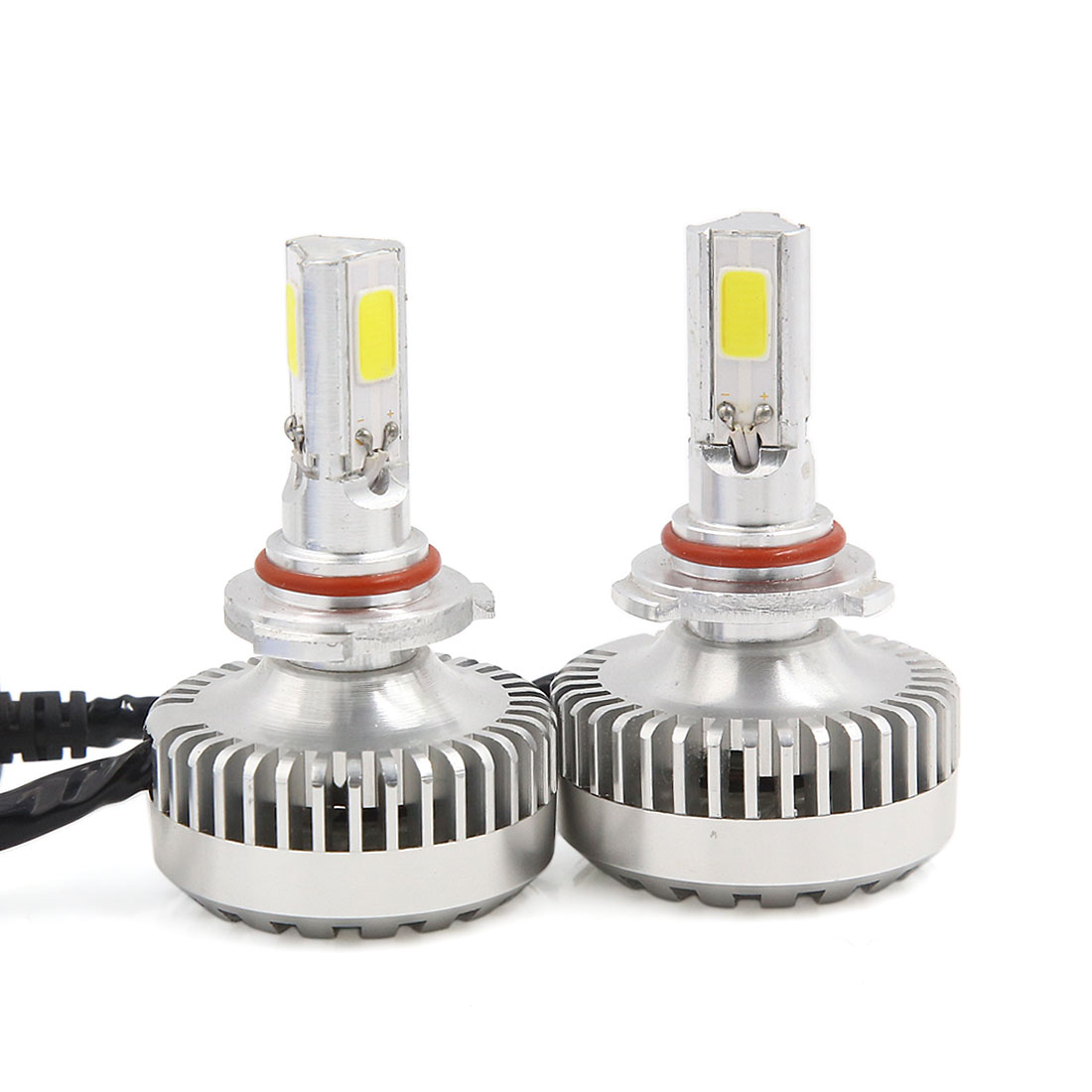 2 x 40W 9005 COB LED Headlight Bulbs Kit 6000K 4000LM + LED Canbus Kit (1 pair)