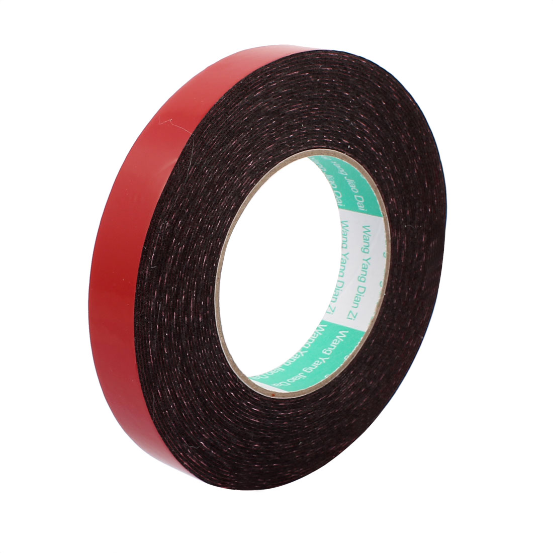 20mm x 1mm Double Sided Self Adhesive Shockproof Sponge Foam Tape 10M Length