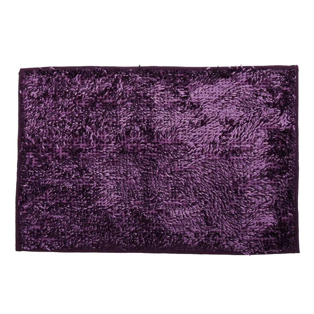 Traditional Slip Resistant Absorbent Carpet Bath Rug Mat Purple 32 x 20 Inches