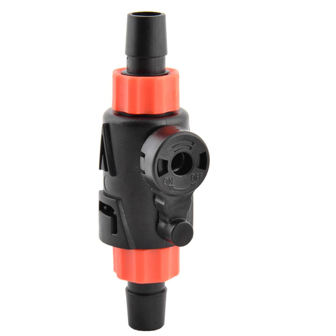 Aquarium Water Flow Control Valve Hose Pipe Connector Adapter 9mm Inner Dia