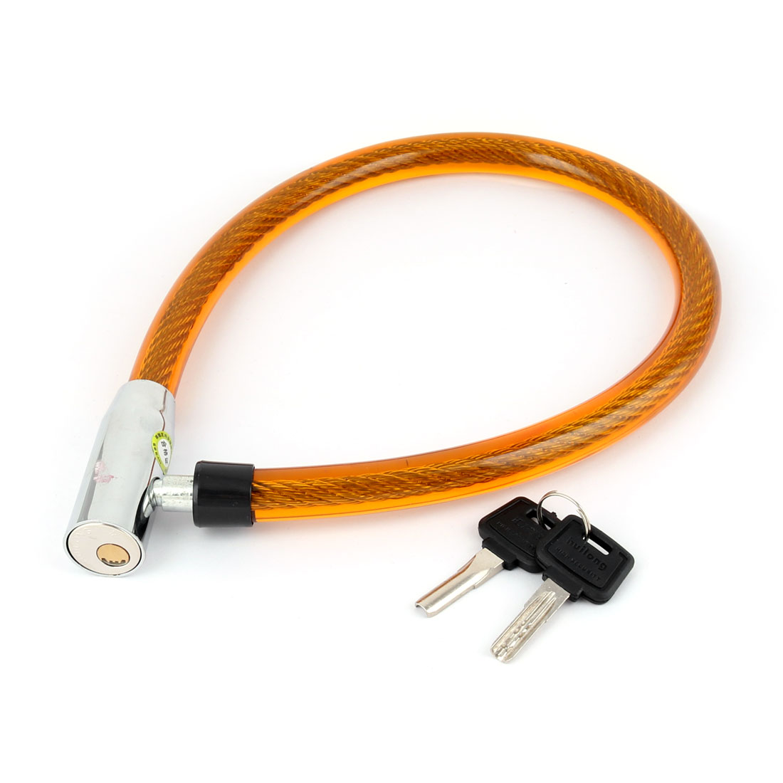 Outdoor Motorcycle Biking Bicycle Plastic Shell Cable Security Safeguard Lock