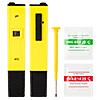 Digital PH Meter Tester Pocket Aquarium Pool Water Wine LCD Pen Monitor Yellow