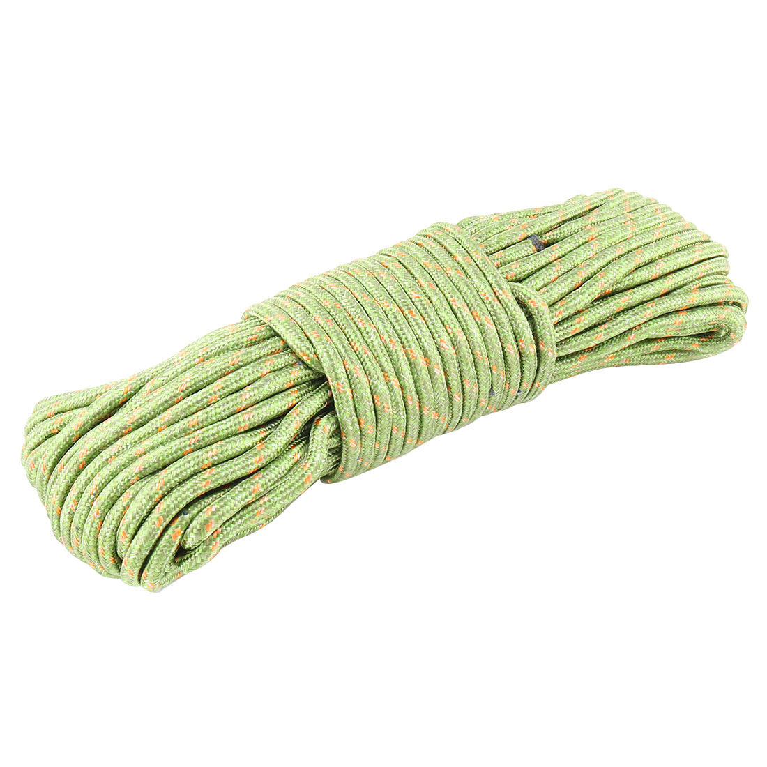 Home Yard Outdoor Nylon Hanging Windproof Clothes Rope String Line Clothesline Green 28m Long