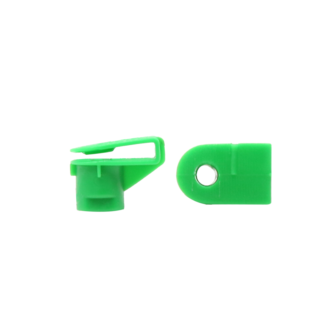 100 Pcs Green Weatherstrip Mud Flaps Plastic Rivets Clips Fasteners for Car Auto