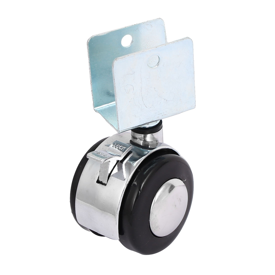 2'' Diameter Wheel 360 Degree Rotatable Top Clamp Clip Swivel Caster
