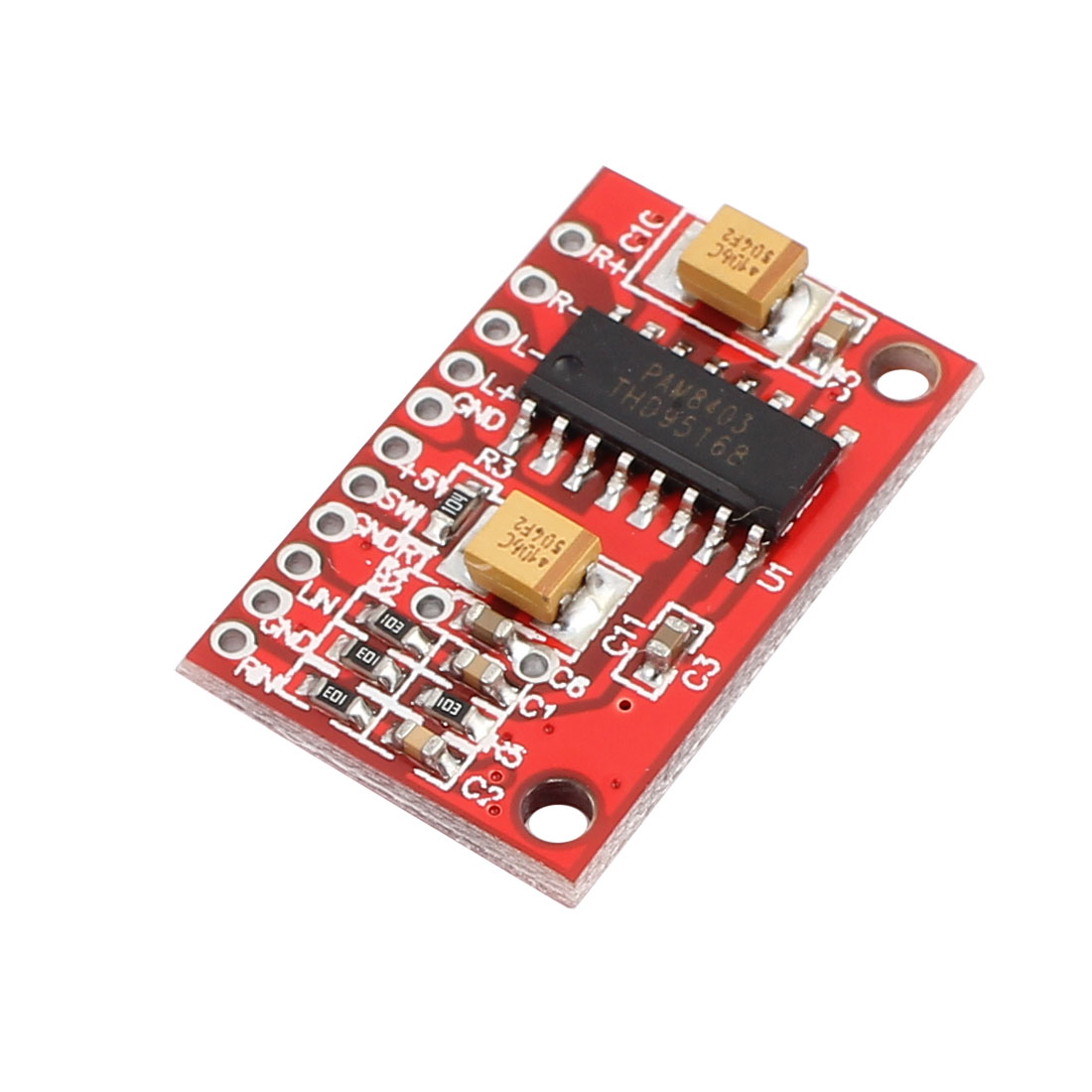 3W Double Channel Super Mini Digital Amplifier Board USB Powered