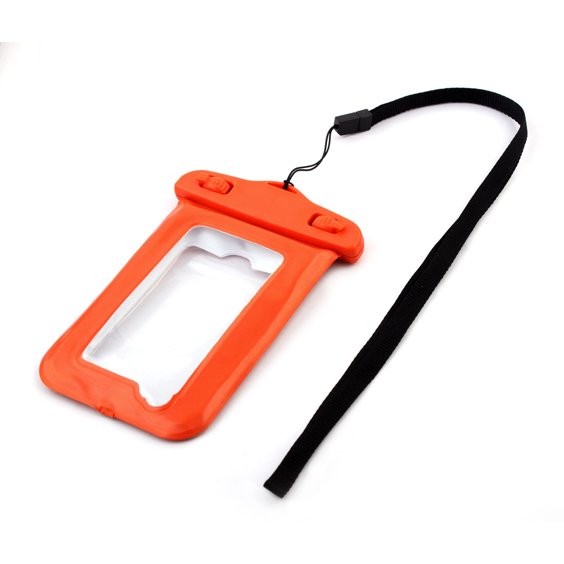 Water Resistance Case Bag Pouch Protective Holder Orange for 4 Inches Cell Phone