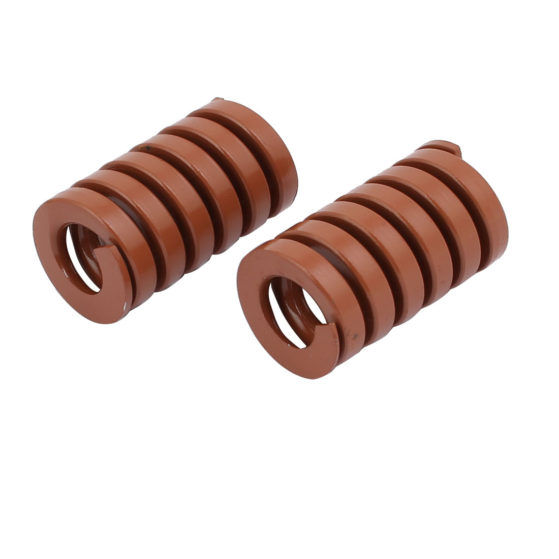 Alloy Steel Spiral Stamping Compression Die Springs Brown 35mmx20mm 2pcs
