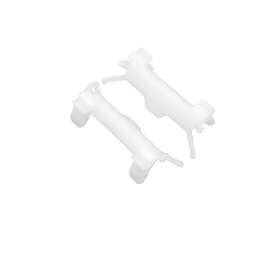 30 Pcs White Plastic Car Vehicle Fastener Rivet Interior Trim Panel Door Clips