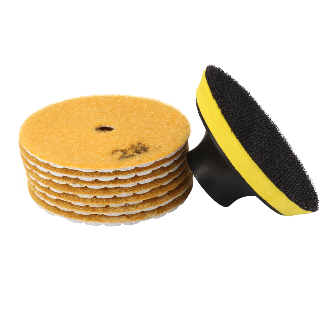 3-inch Diamond Dry Polishing Pad Grit 300 7PCS for Sanding Marble Granite Stone