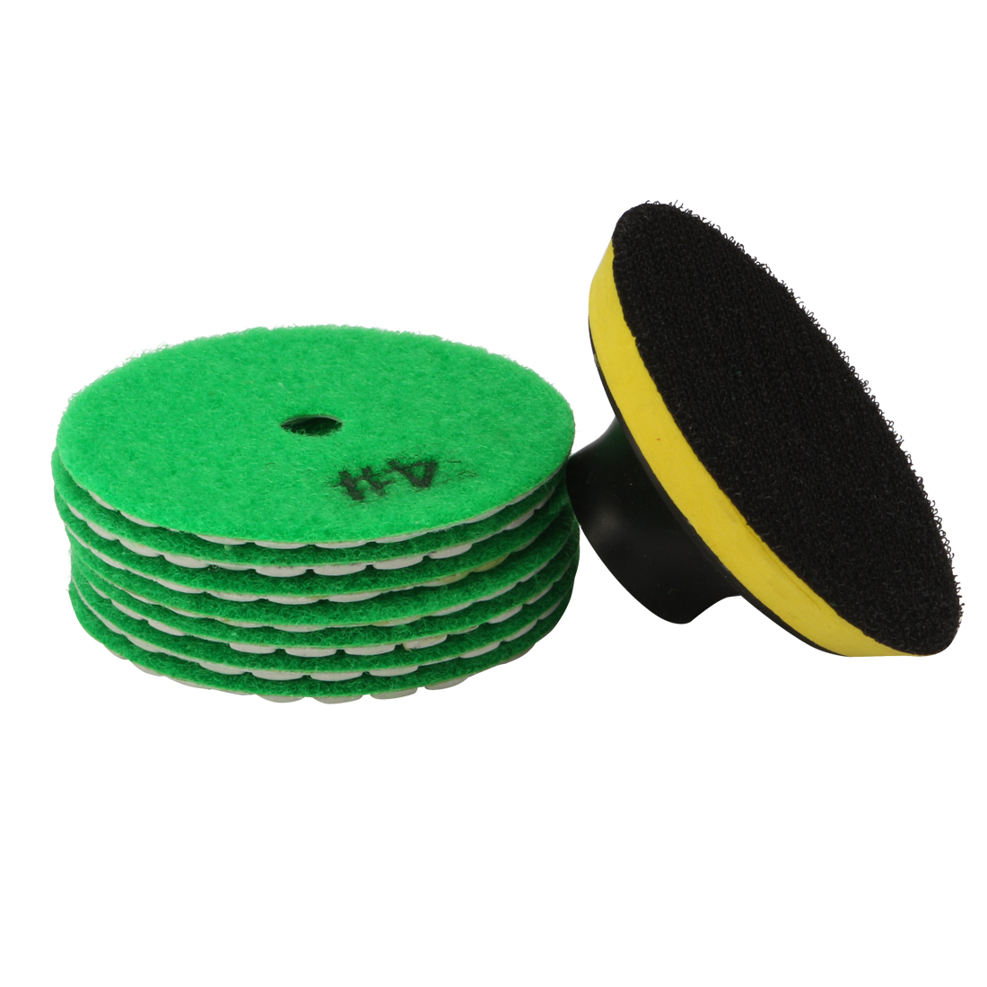 "3"" Diamond Dry Polishing Pad Grit 1000 7PCS for Sanding Marble Granite Stone"