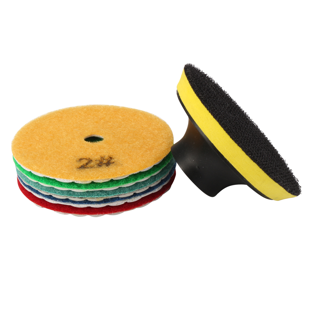 3-inch Diamond Dry Polishing Pad 5 in 1 for Sanding Marble Granite Stone