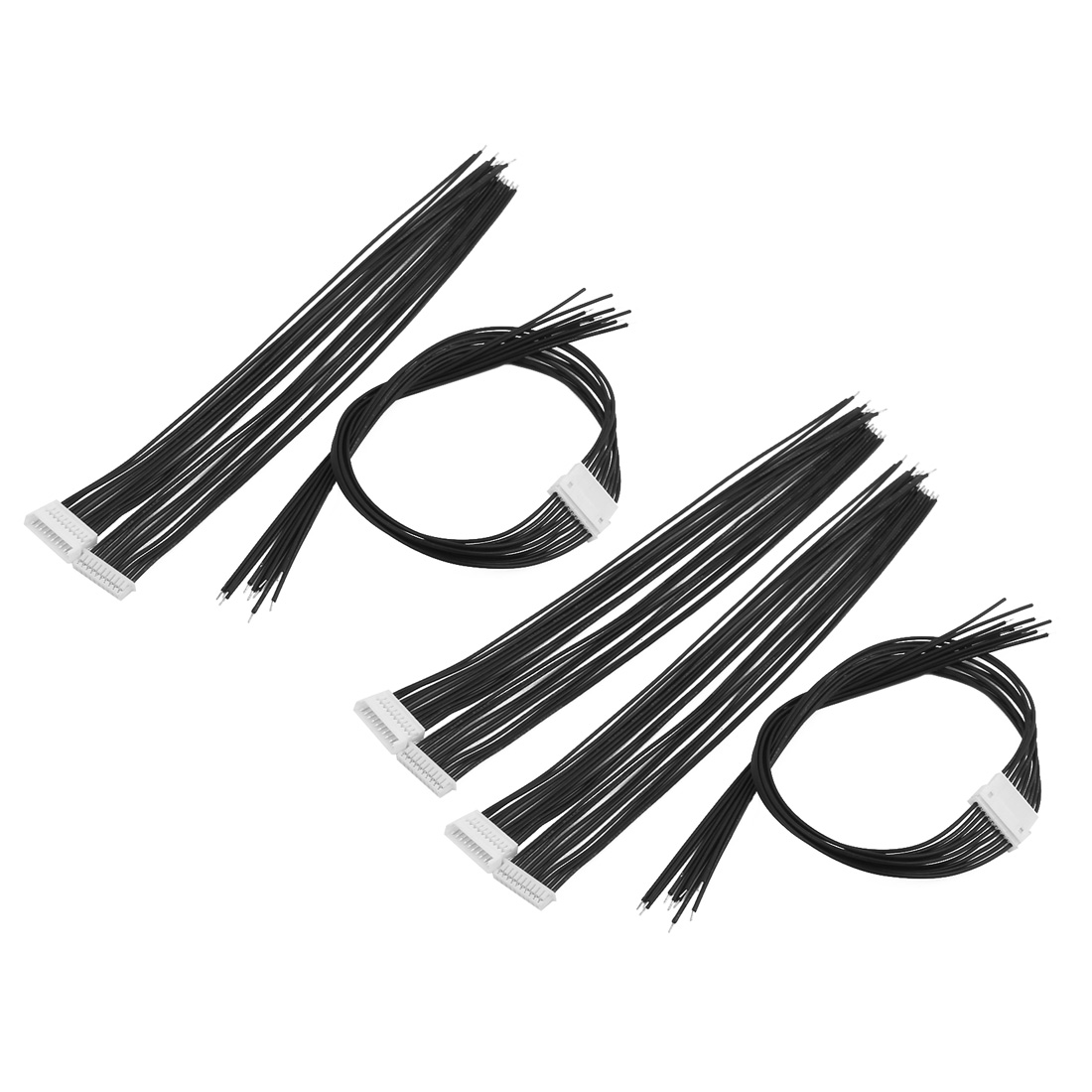 5Pair 150mm Length 1.25mm Pitch Male And Female CKM 10 Terminals Extension Cable Black