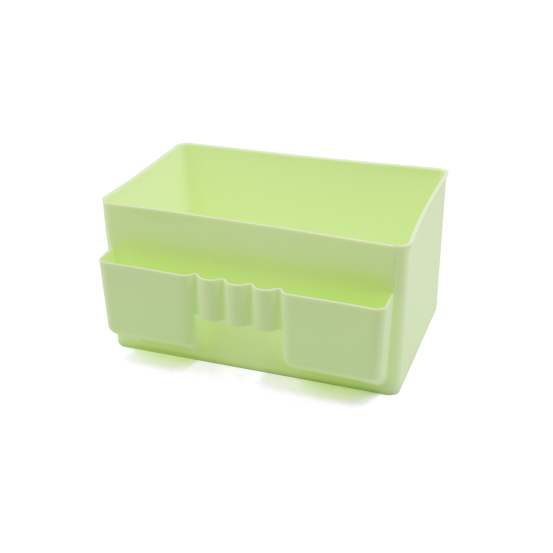 Green Lipsticks Lotion Cleanser Makeup Brush Cosmetic Holder Storage Container