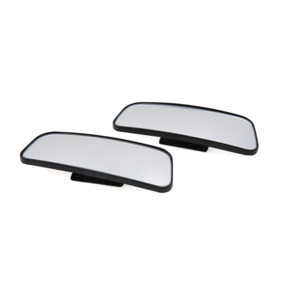 2pcs Rectangular Stick-on Wide Angle Rear View Blind Spot Mirror for Car