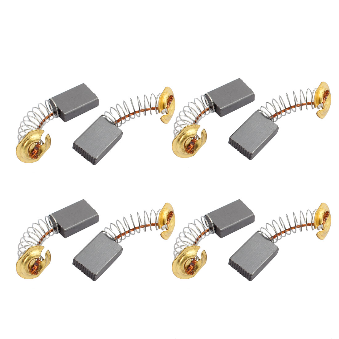 4 Pairs Electric Drill 15.5mm x 11mm x 5mm Motor Carbon Brushes Spare Part