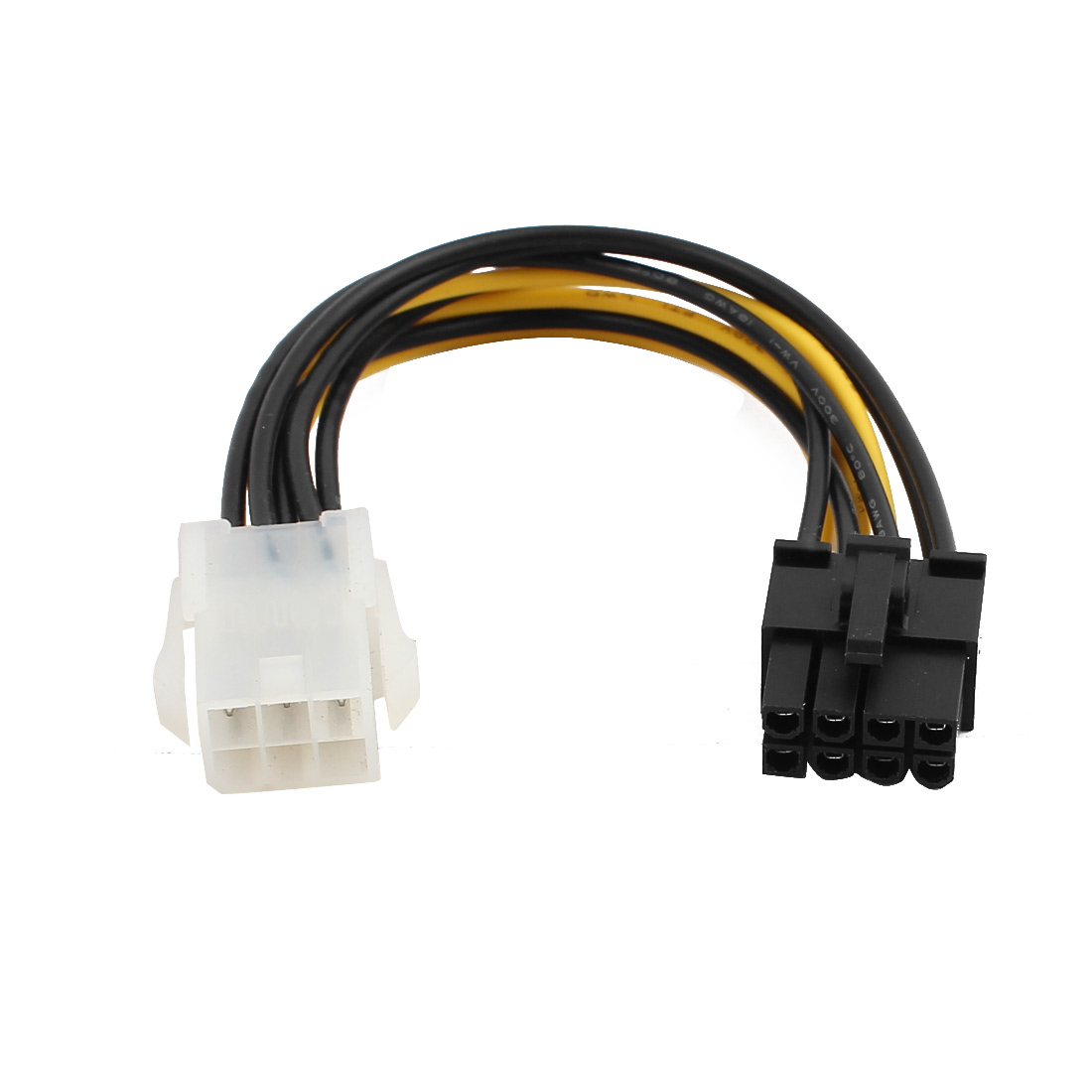 6 Pin to 8 Pin PCIE PCI Express Video Card Power Supply Cable Adapter
