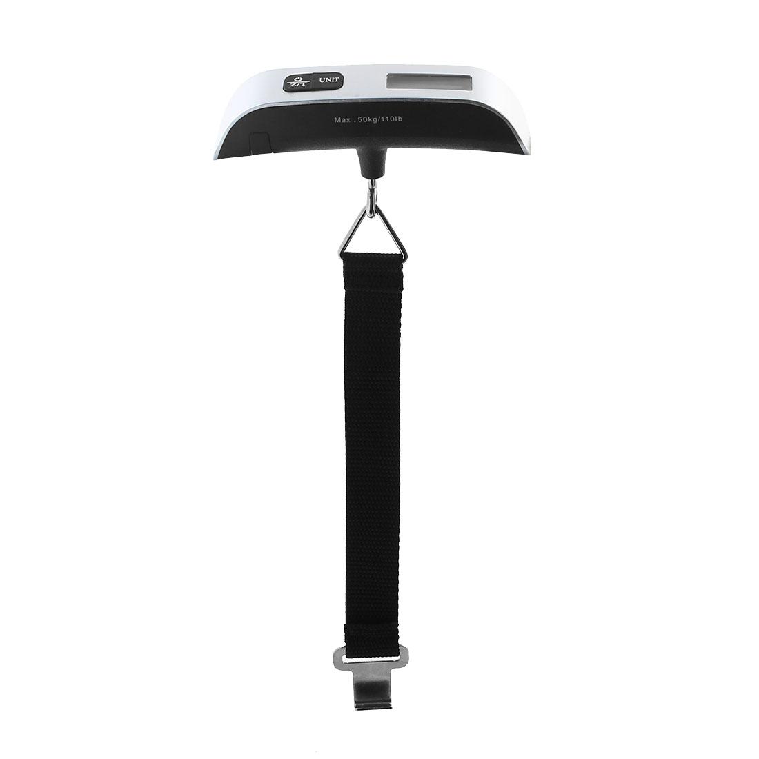 LCD Display Electronic Balance Digital Postal Luggage Hanging Scale 110lb/50kg