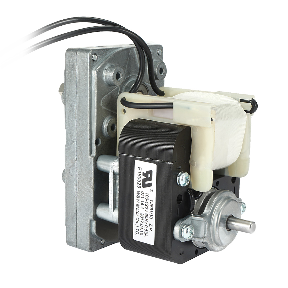 FC-YJ61 AC100V-120V 60Hz 3RPM CW Shaded Pole Motor Universal Geared Motor