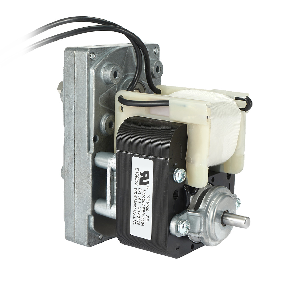 FC-YJ61 AC100V-120V 60Hz 9.5RPM CW Shaded Pole Motor Universal Geared Motor