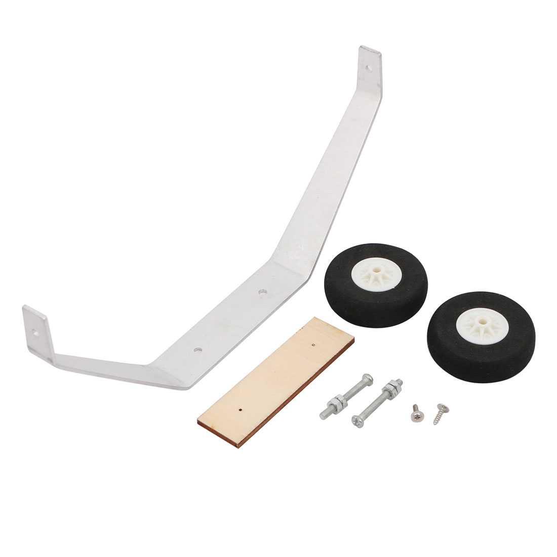 Set 40mm Dia Steerable Tailwheel Assembly Kit Bracket for RC Airplane